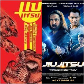 Comic Stripped: Jiu Jitsu