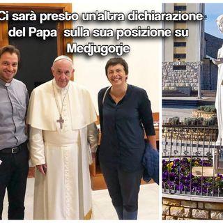 """Papa Francesco dice a Chiara Amirante """"Puoi dire che ho a cuore Medjugorje"""