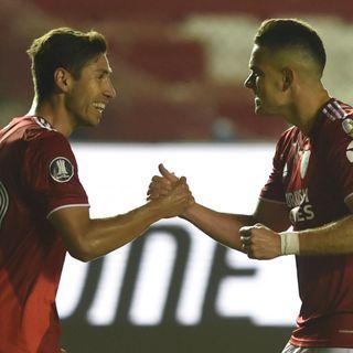 Gol de River: Rafael Santos Borre 2-5