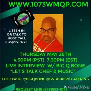 Live Interview with Big Q Bone 7:30pm est