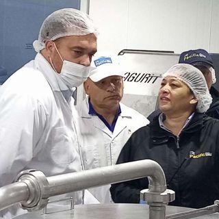 Conexión Pesquera - Intendente Giacaman visita PacificBlu y llama a cuidar los empleos de la pesca industrial