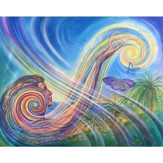 Buongiorno al centro del nostro cuore 💓 oggi leggiamo la Guida al Nuovo Paradigma 💙🌈💕🌟💓