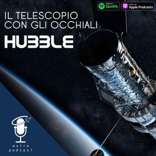 Hubble, il telescopio con gli occhiali