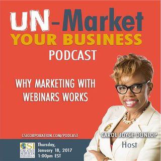Why Marketing with Webinars Works