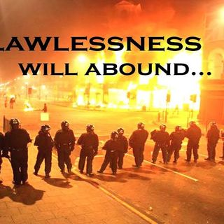LAWLESSNESS IN THE STREETS  OF AMERICA..WHAT'S THE ANSWER?