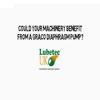 Could Your Machinery Benefit From A Graco Diaphragm Pump?