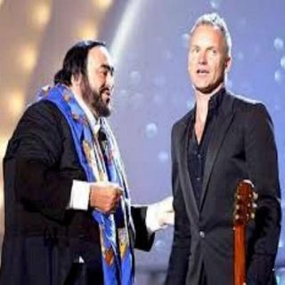 Sting and Pavarotti - Panis Angelicus