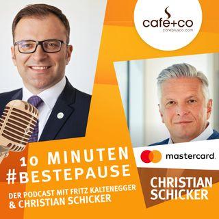 BESTEPAUSE Podcast Folge 10 – Christian Schicker (Mastercard) über den Trend zum bargeldlosen Bezahlen seit COVID-19