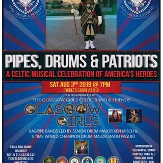 Pipes, Drums & Patriots Glasgow Girls