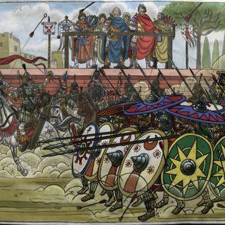 Il trionfo di Narsete (553-554), ep. 84