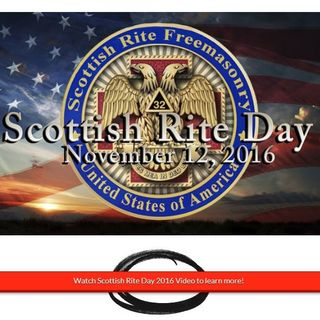 Scottish Rite Day 2016