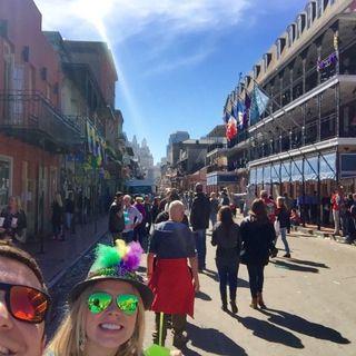 Live from Bourbon Street. Mardi Gras 2016
