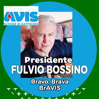 Fulvio Bossino Presidente Avis Gattinara 31012020