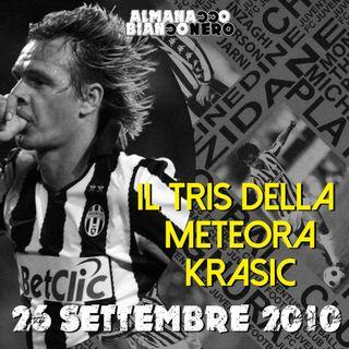 26 settembre 2010 - Il tris della meteora Krasic