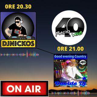 "Radio 40 "" Forty Before The Night"" Martedi' Sera 16/02/2021"