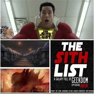 Episode 103- Clone Wars is Back, Aquaman, Shazam Trailers and #SDCC news