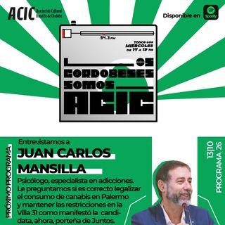 LCSA - Programa 27 - Entrevistado: Juan Carlos Mansilla