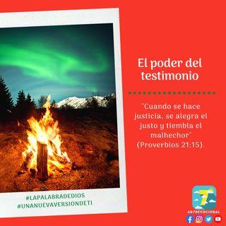 18 de diciembre - El poder del testimonio - Una Nueva Versión de Ti 2.0 - Devocional de Jóvenes