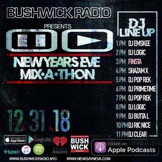 "Hip Hop, Beats & Thangs with Finsta & Rellik ""New Year's Mix"""