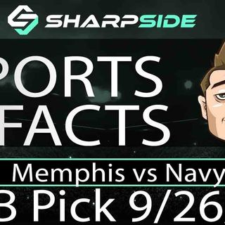 FREE Thursday Night College Football Betting Pick - Navy vs Memphis