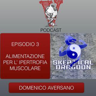 Invictus podcast ep. 3 - Domenico Aversano - Alimentazione per l' ipertrofia muscolare