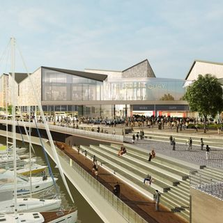 The Director of Falcon Real Estate Limited discusses the North Quays