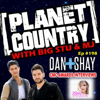 #198 - Dan+Shay and Natalie Pearson CMC Awards Red Carpet Interviews