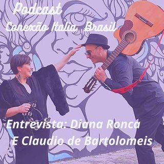 Conexão Italia  Brasil entrevista DIANA RONCA e CLAUDIO DE BARTOLOMEIS