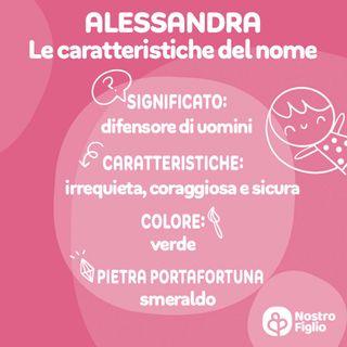 Alessandra nome, significato, onomastico, curiosità e carattere