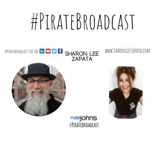 Catch Sharon Lee Zapata on the #PirateBroadcast