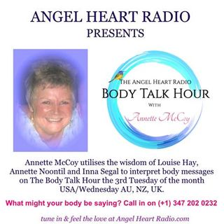 The Body Hour - Is Your Body Sending You A Message? What Might it BE? - Annette
