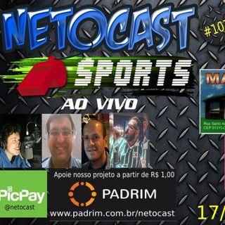NETOCAST 1075 DE 17/10/2018 - ESPORTES