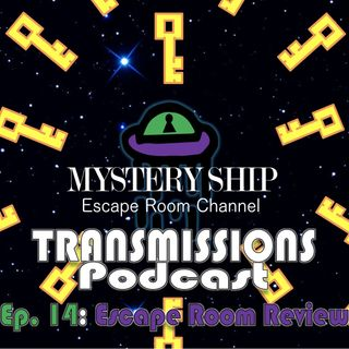 Ep14 Escape Room Review: The Salem Witch Hunt - Mystery Ship Transmissions Podcast
