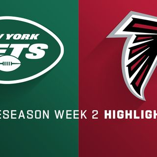 PreSeason WK 2: Jets Use 'D' To Beat Falcons 22-10