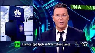 Huawei Overtakes Apple As Number 2 SmartPhone Maker