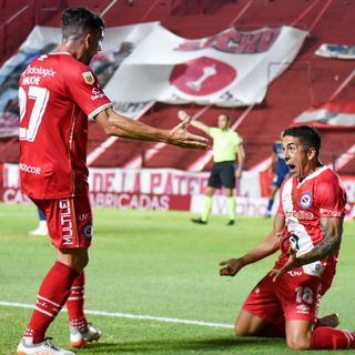 Gol de Argentinos: Diego Sosa 1-0