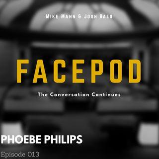 Episode 013 - Phoebe Philips corners the market on tongue depressors.