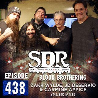 Zakk Wylde, JD DeServio & Carmine Appice (Musicians) - Blood Brothering