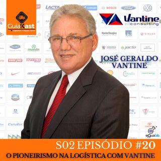 José Geraldo Vantine Fundador e CEO da Vantine Consulting