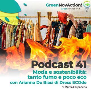 #41 - Moda e sostenibilità: tanto fumo e poco ECO