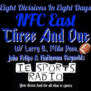 Three And Out- Eight Divisions In Eight Days: NFC East
