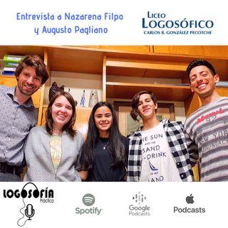 Entrevista a Nazarena Filpo y Augusto Pagliano: Representantes en atletismo del Liceo Logosófico