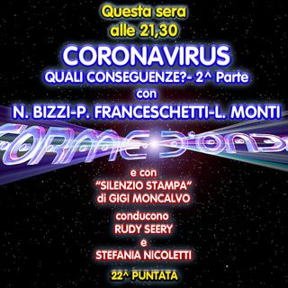 Forme d'Onda - Coronavirus: quali conseguenze? Parte 2 - N. Bizzi, P. Franceschetti, L. Monti - G. Moncalvo - 22^ puntata (02/04/2020)