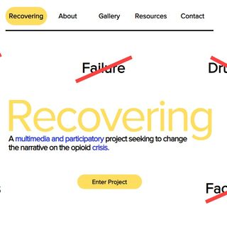 Emerson Students Create Project To Tell Recovering Addicts' Stories