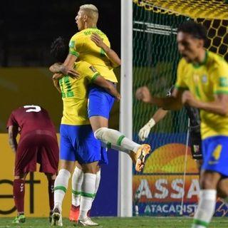 Firmino hizo sonreír a Brasil