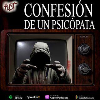 Confesión de un psicópata