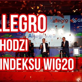 Allegro i CD Projekt zatopią WIG20- Rewizja indeksu i oczekiwań