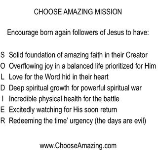 Episode 29 - Choose Amazing Faith