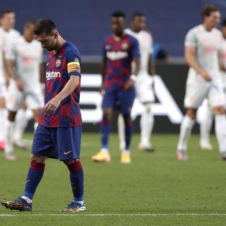Un Barça che sta per affondare...