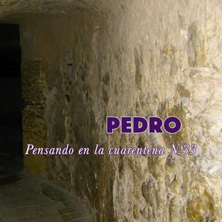 Pedro (Reflexiones en la cuarentena N.33)